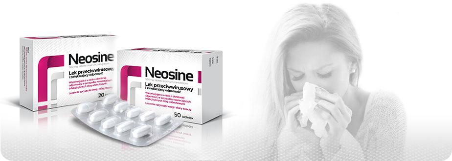 Neosine tabletki -Jak stosować