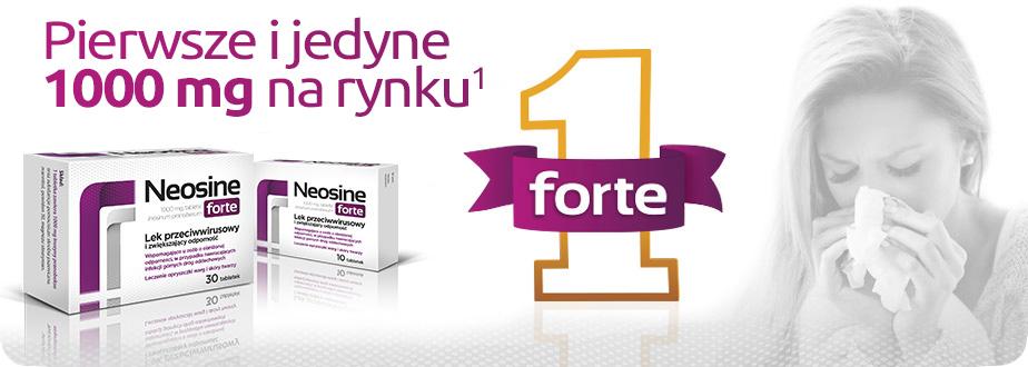 Neosine Forte tabletki -Jak stosować